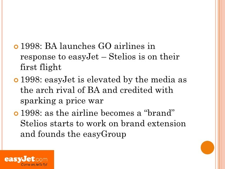 marketing of easyjet Easyjet - pricing strategy easyjet easyjet's early marketing strategy was founded on making soaring as inexpensive as a pair of easyjet strategy easyjet.