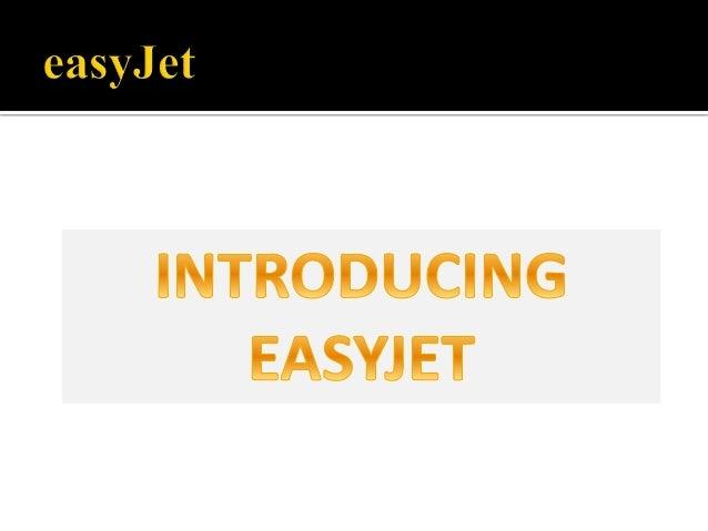 EasyJet Analysis Slide 3