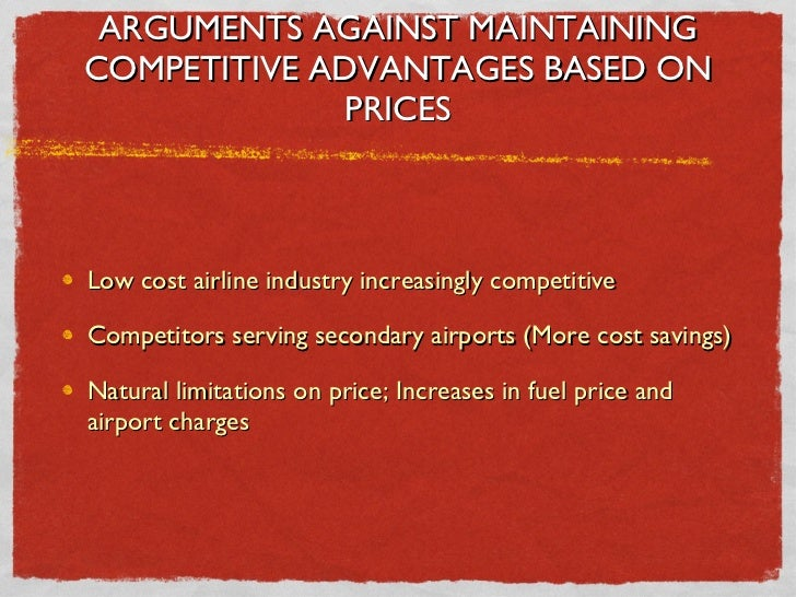 Easyjet competitive advantage