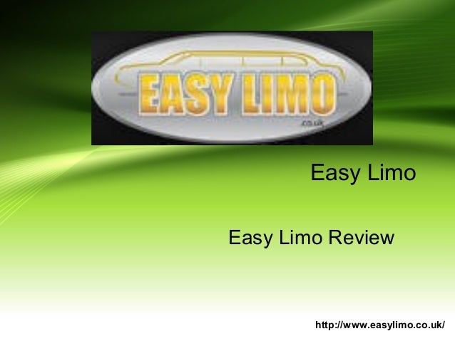 Easy Limo Easy Limo Review http://www.easylimo.co.uk/