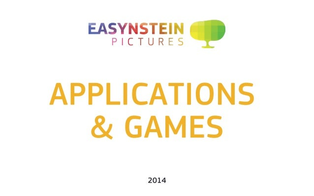 Applications and Games Slide 1