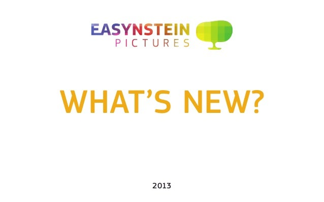 What's new? 2013