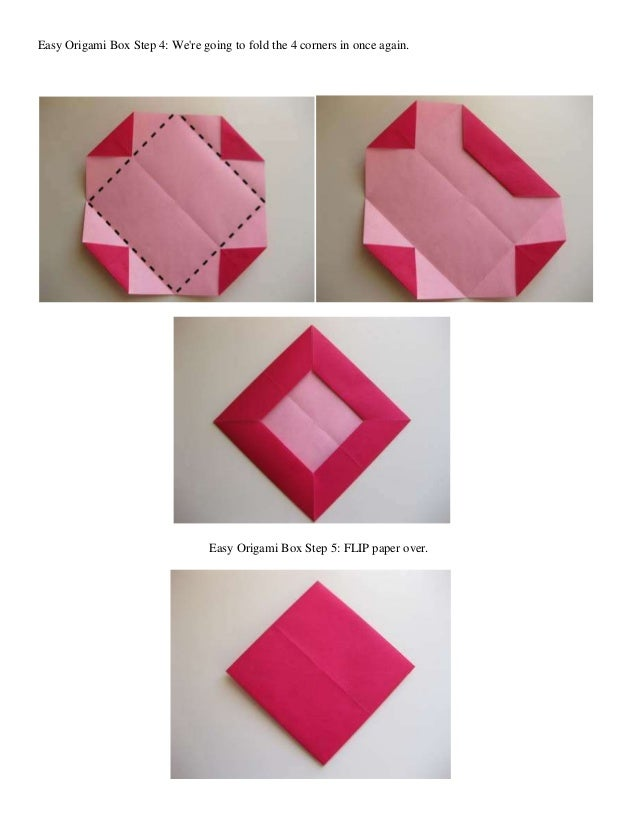Instructions On How To Fold An Origami Heart