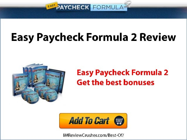 Easy Paycheck Formula 2 Review
