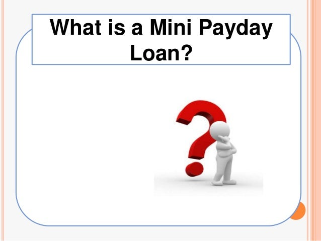 Mini Payday Loans get you through Hard Times - Easy Payday Market - 웹