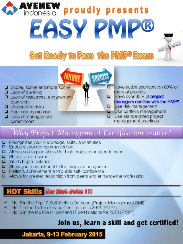 Easy Pmp Class 9 13 February 2015