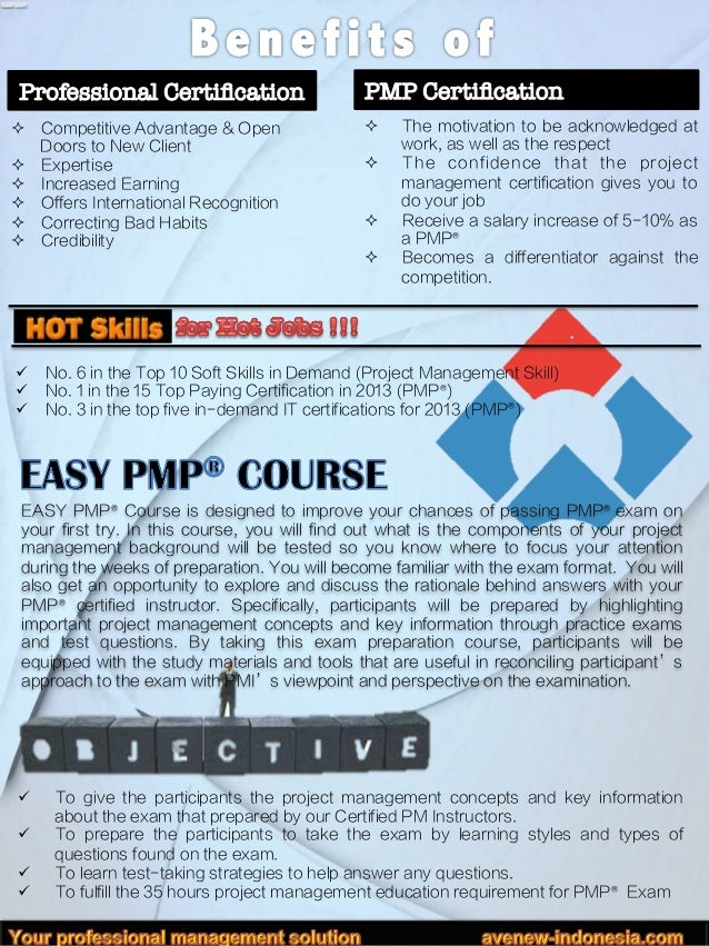 Easy Pmp Training Course In Jakarta November 24 28 2014