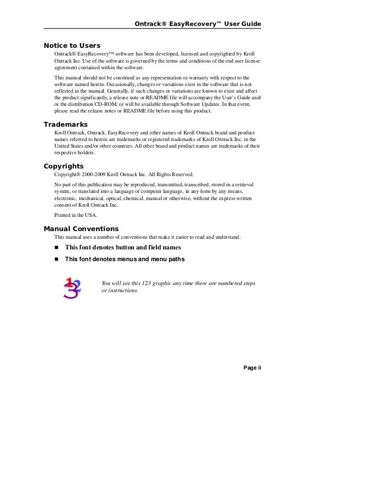 Easy recovery62 user guide en Slide 2