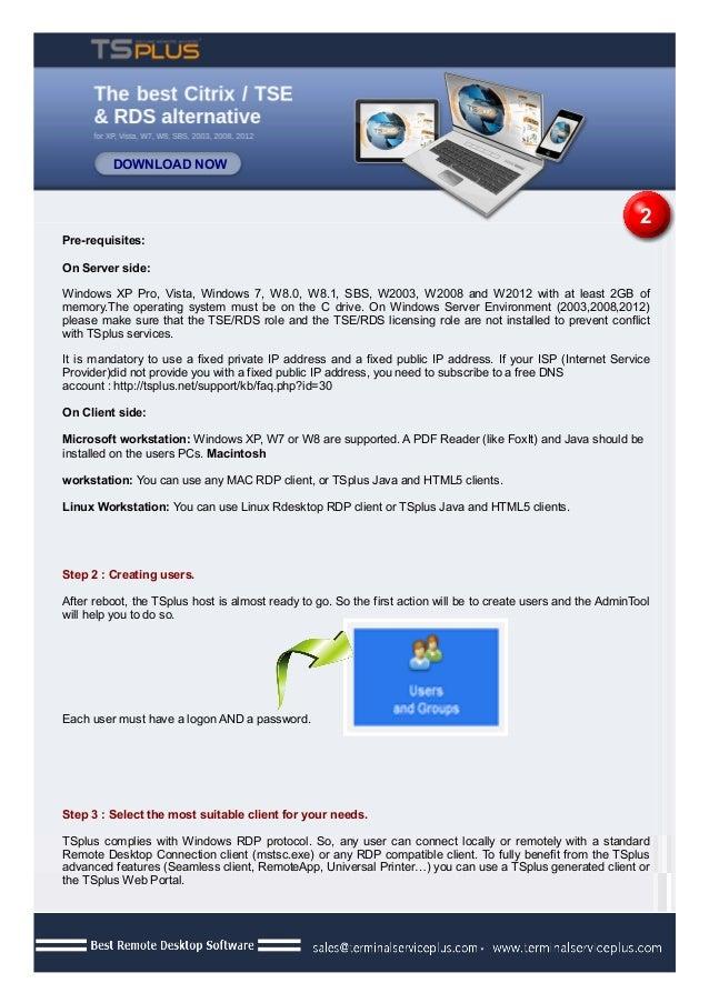Easy Remote Desktop Access