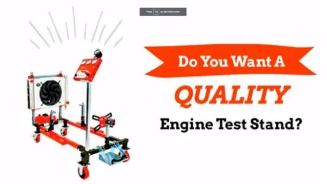 Shopping For A Low Cost Engine Test Stand For Your Rebuild We Ve Got