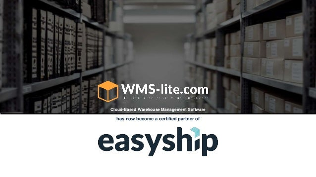 has now become a certified partner of Cloud-Based Warehouse Management Software