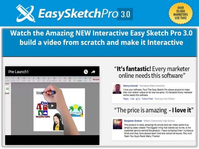 Easy Sketch Pro Doodle Software - Works on Mac and PC