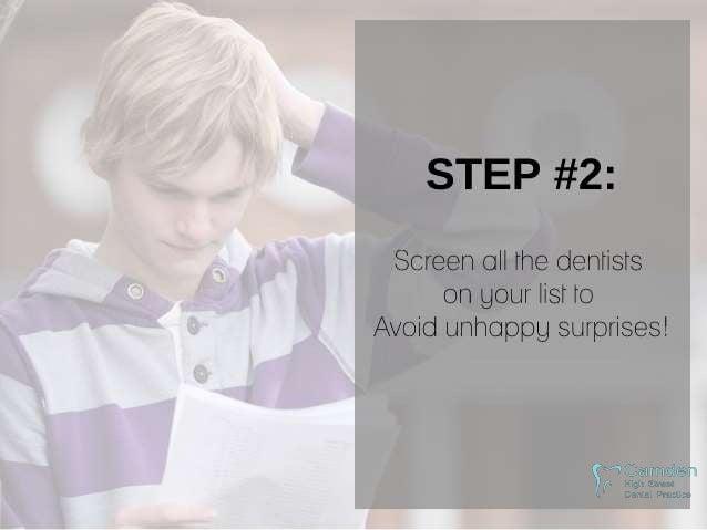 Easy Steps to Finding a Dentist Slide 3
