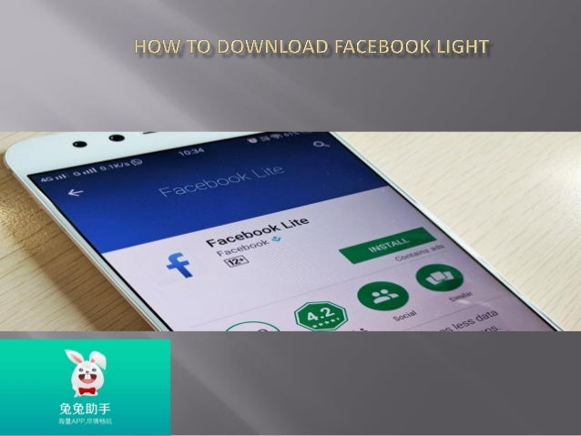 Easy steps to download facebook light by tu tuapp