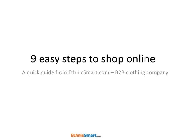 Steps clothing store website