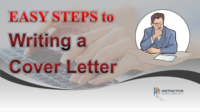 steps in writing a cover letters