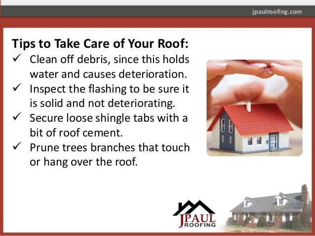 Tips ...  sc 1 st  SlideShare & Easy Tips to Take Care of Your Roof u2013 Read Now! memphite.com