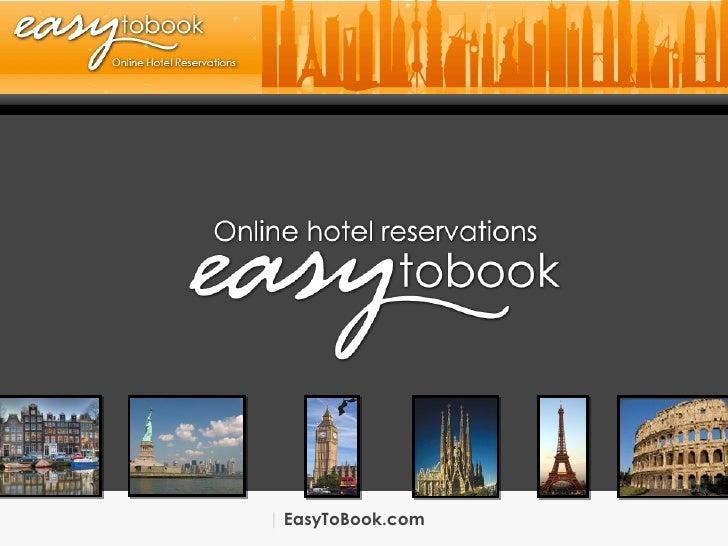 Sales Department | EasyToBook.com | International | EasyToBook.com