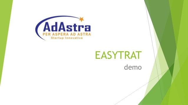 EASYTRAT demo
