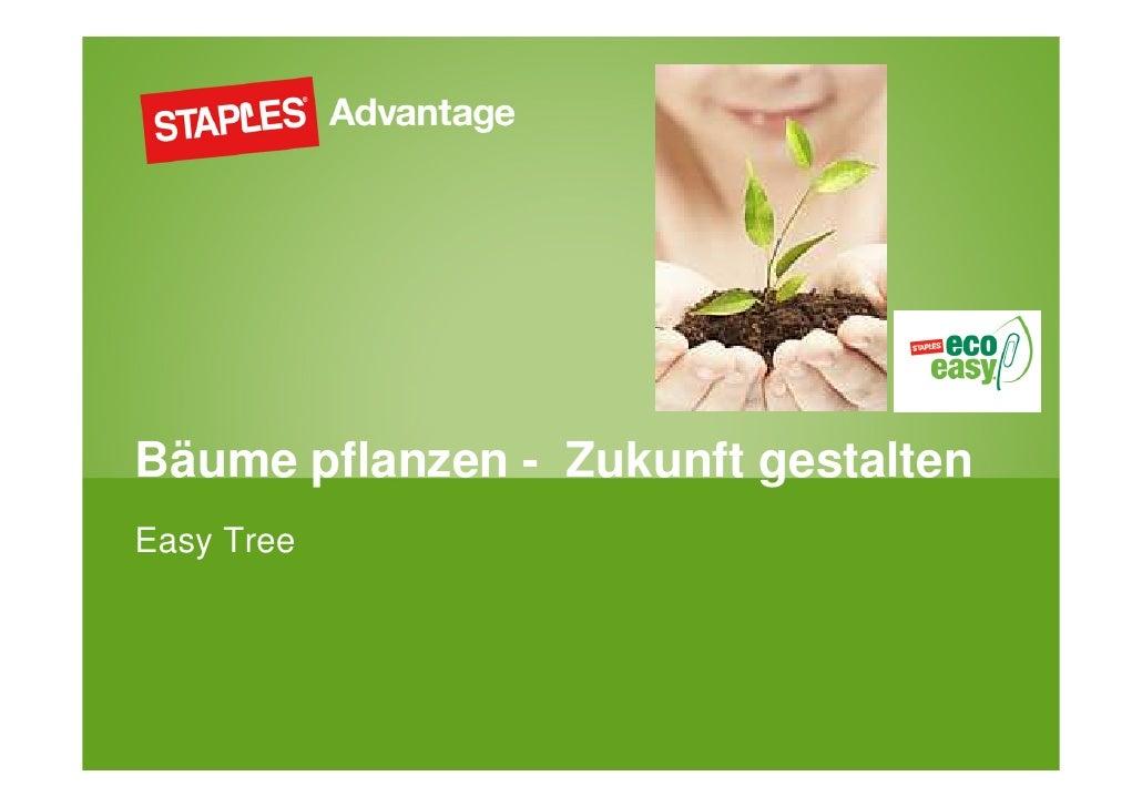 Bäume pflanzen - Zukunft gestaltenEasy Tree