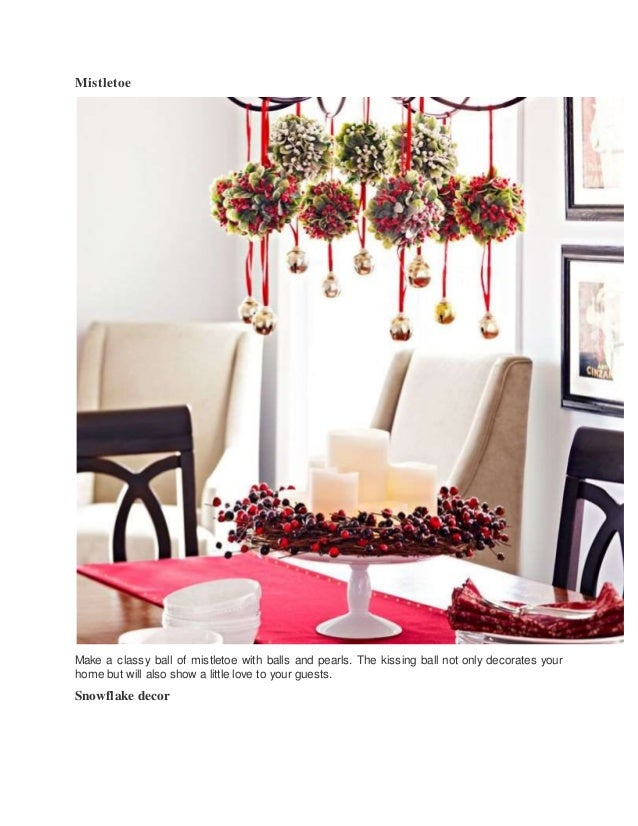Easy Ways To Decorate Your Home For Christmas