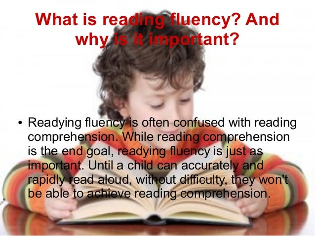 ways to improve fluency in one Reading fluency activities for older students  the poem in order to improve fluency  readers reading one of his scripts what a perfect way to provide a model.