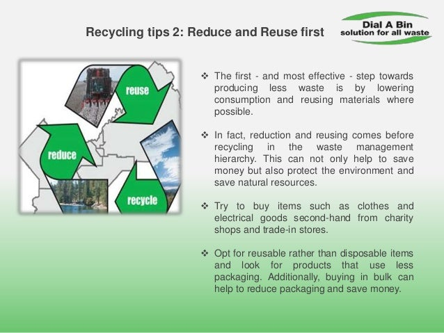 Easy Ways To Recycle More