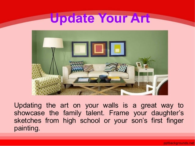 Easy ways to update a room