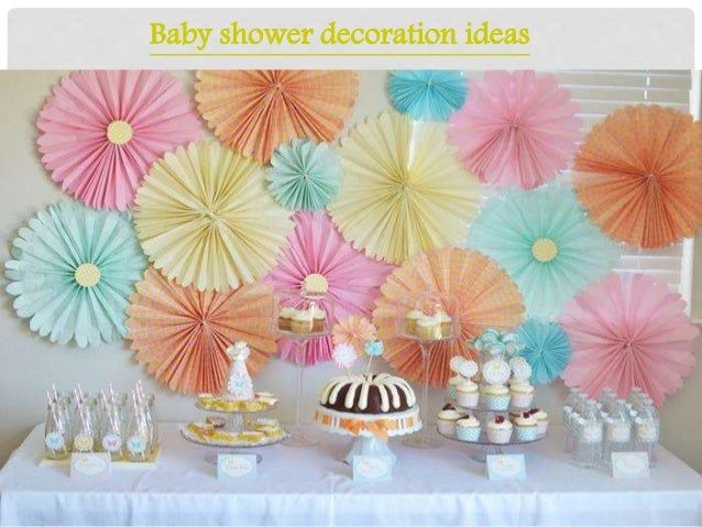 Baby Shower Decoration Ideas ...