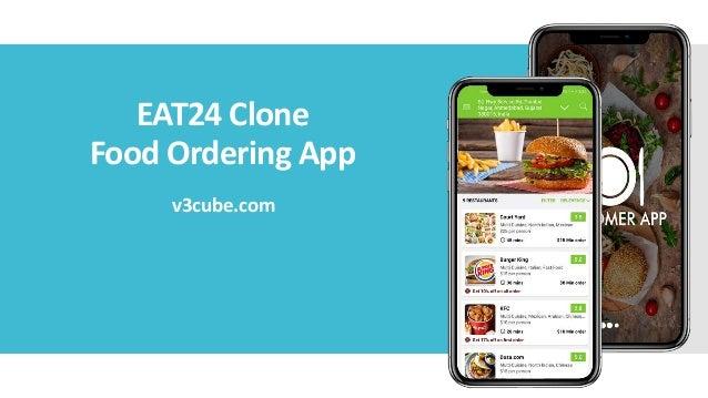 EAT24 Clone Food Ordering App v3cube.com