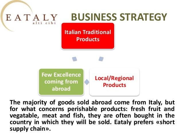 eataly powerpoint The only landlocked region in italy, umbria is located almost dead center of the country there are no metropolitan cities in the region, but the lack of industry is made up for ten-fold by the natural beauty of the countryside.