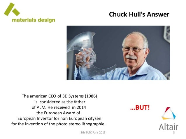 ALM According to ALM - History of 3D Printing