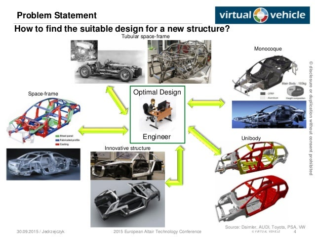 Conceptual Studies Of The Lightweight Vehicle Structure
