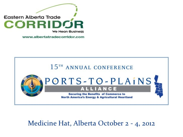 Medicine Hat, Alberta October 2 - 4, 2012