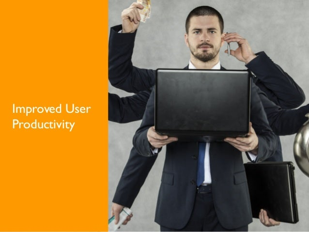 Improved User Productivity