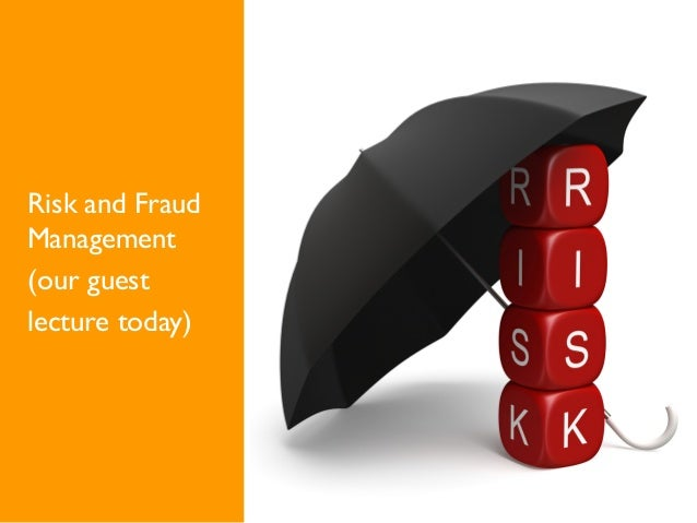 Risk and Fraud Management (our guest lecture today) @MBU: passendes Bild finden