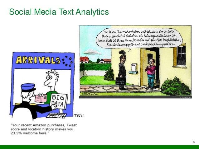 5 Social Media Text Analytics