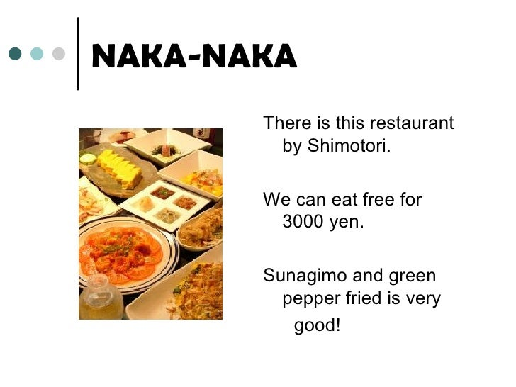 Eating free restaurant Slide 2