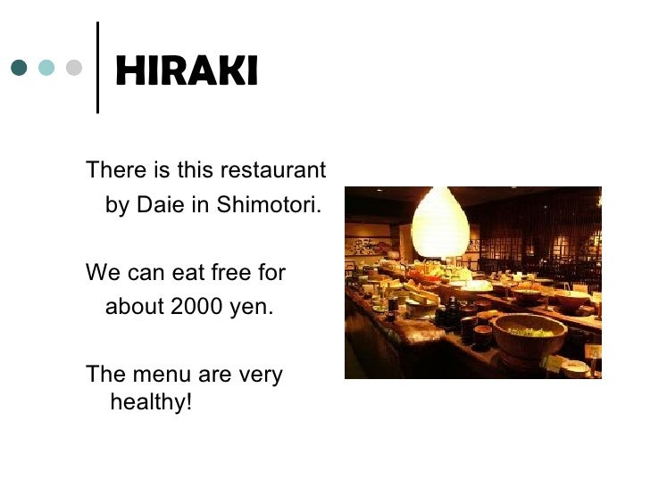 Eating free restaurant Slide 3