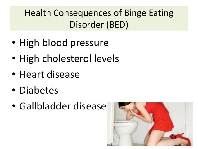 an overview of binge eating disorders This article provides an overview of clinical features, consequences, and   binge eating disorder appears to be the most common eating disorder in those  with.