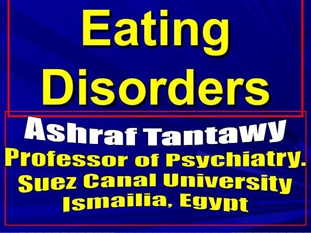EatingEating DisordersDisorders