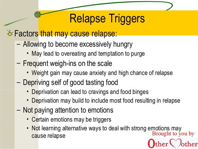 66 Relapse Triggers