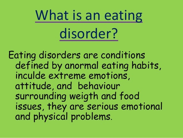 a description of diagnosis and effects of bulimia to an individual Description bulimia is an eating disorder whose main  effects of bulimia on  psychotherapy plays a major role helping the individual with bulimia recover.