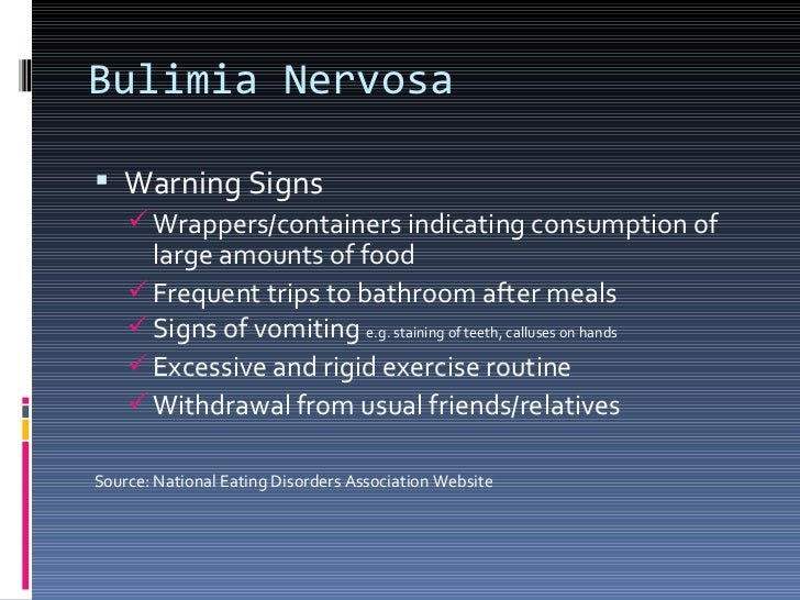 Eating disorders unit 10