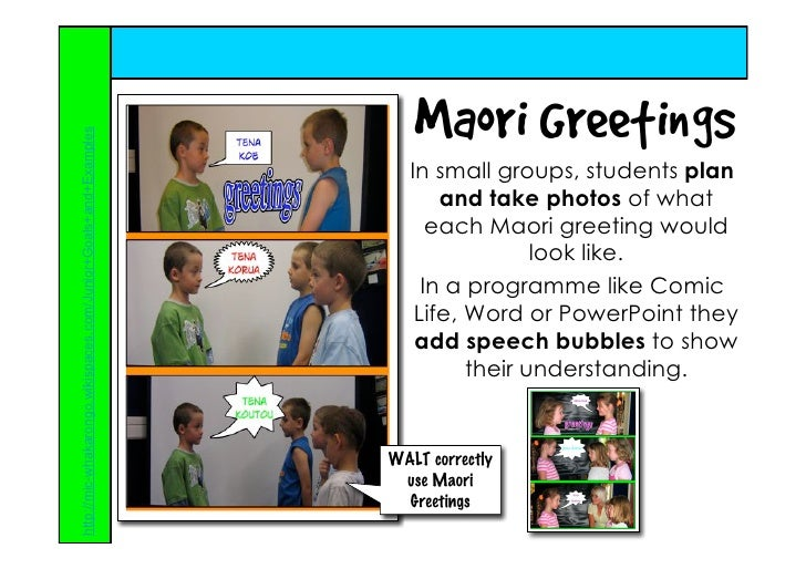 Ideas for using the digital camera in the primary classroom rachel maori greetings m4hsunfo
