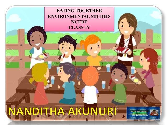 EATING TOGETHER ENVIRONMENTAL STUDIES NCERT CLASS-IV