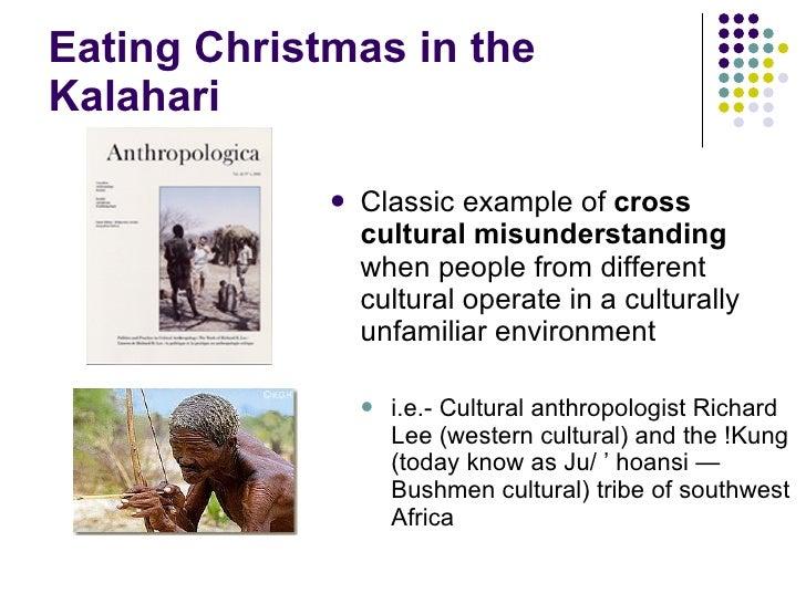Eating Christmas In The Kalahari.Eating Xmas In The Kalahari