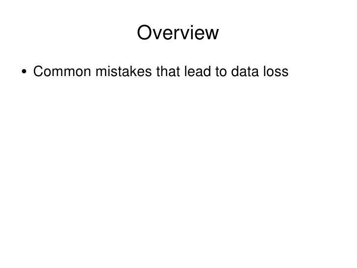Eat my data Slide 3