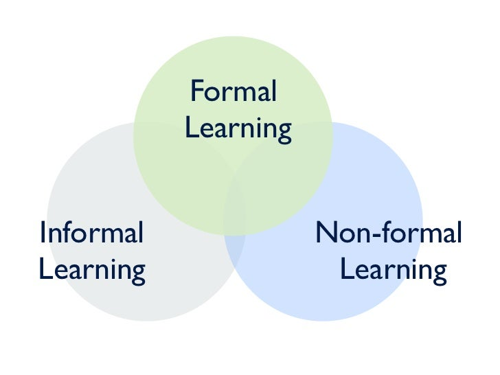 importance formal and informal education The present study on the links between formal and non-formal education informal learning and non-formal of the centrality of learning as the most important.