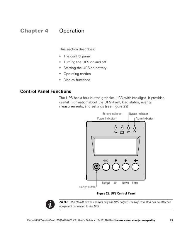 Eaton 9135 ups_users_guide